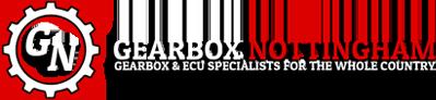 Gearbox Nottingham & Slaters Garage Logo