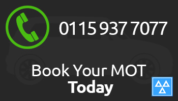 Book an MOT today